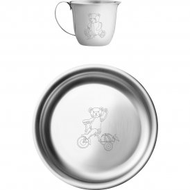 Georg Jensen Julius Cup & Plate Set ~ 3580024