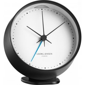 Georg Jensen Koppel Alarm Clock & Holder - Black ~ 3587595
