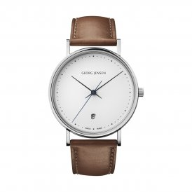 Georg Jensen Koppel Brown Gents Watch ~ 3575707