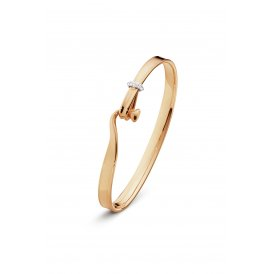 Georg Jensen Rose Gold Torun Bangle Large