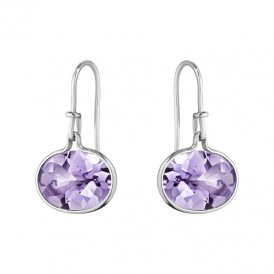 Georg Jensen Savannah Amethyst Earhooks ~ 10003041