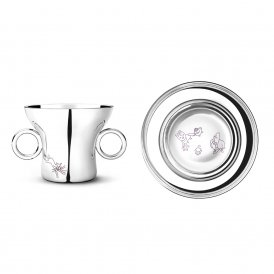 Georg Jensen The Twist Family Child's Cup & Plate Set