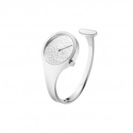 Georg Jensen Vivianna Hammered Dial Ladies Watch ~ 3575534-S