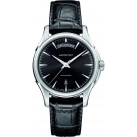 Hamilton Jazzmaster Collection Gents Watch Black Strap H32505731