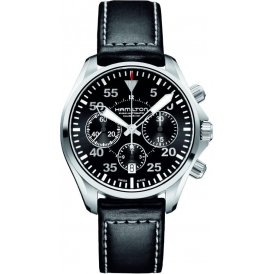 Hamilton Khaki Pilot Auto Chrono Gents Watch H64666735