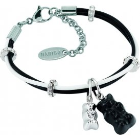 Haribo Black and White Swarovski Gummi Bear Bracelet