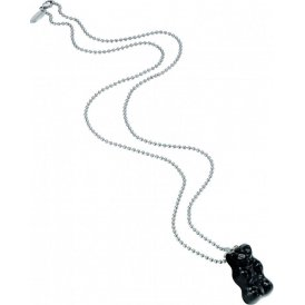 Haribo Large Black Gummi Bear Ball Chain Necklace