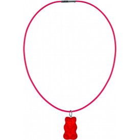 Haribo Large Red Gummi Bear Necklace