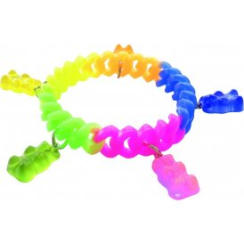 Haribo Multicoloured Silicone Stretchy Bracelet