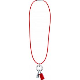 Haribo Red Silicone Necklace with Red & Steel Gummi Bears