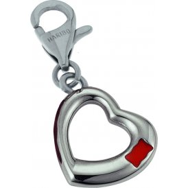 Haribo Steel Open Heart Charm