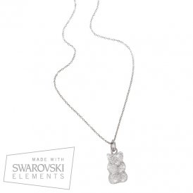 Haribo Swarovski Large Bear Necklace