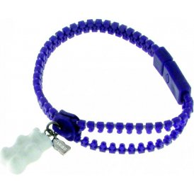 Haribo Violet Zip Bracelet with White Bear