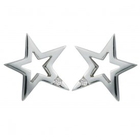 Hot Diamonds Distinctive Silver Earrings ~ DE104
