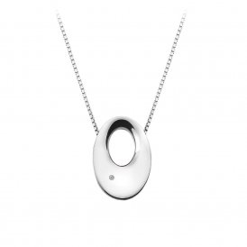 Hot Diamonds Emerge Open Oval Pendant ~ DP582