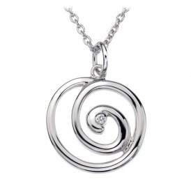 Hot Diamonds Eternity Spiral Pendant ~ DP371