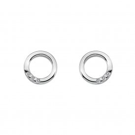 Hot Diamonds Halo Circle Earrings ~ DE417