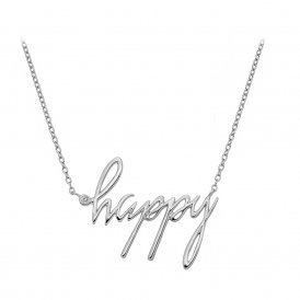 Hot Diamonds Happy Necklace ~ DN100