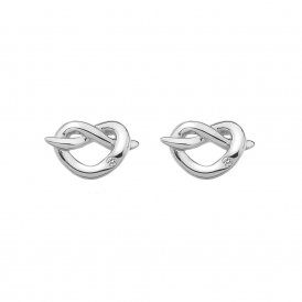 Hot Diamonds Infinity Heart Earrings ~ DE450