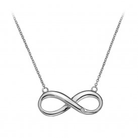 Hot Diamonds Infinity Necklace ~ DN096