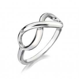 Hot Diamonds Infinity Ring ~ DR144/N