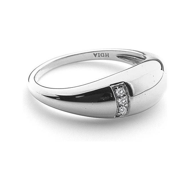 Hot Diamonds Silver Belle Ring ~ DR164/M