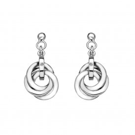 Hot Diamonds Silver Trio Earrings ~ DE388