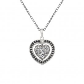 Hot Diamonds Silver Turning Heart Pendant ~ DP606