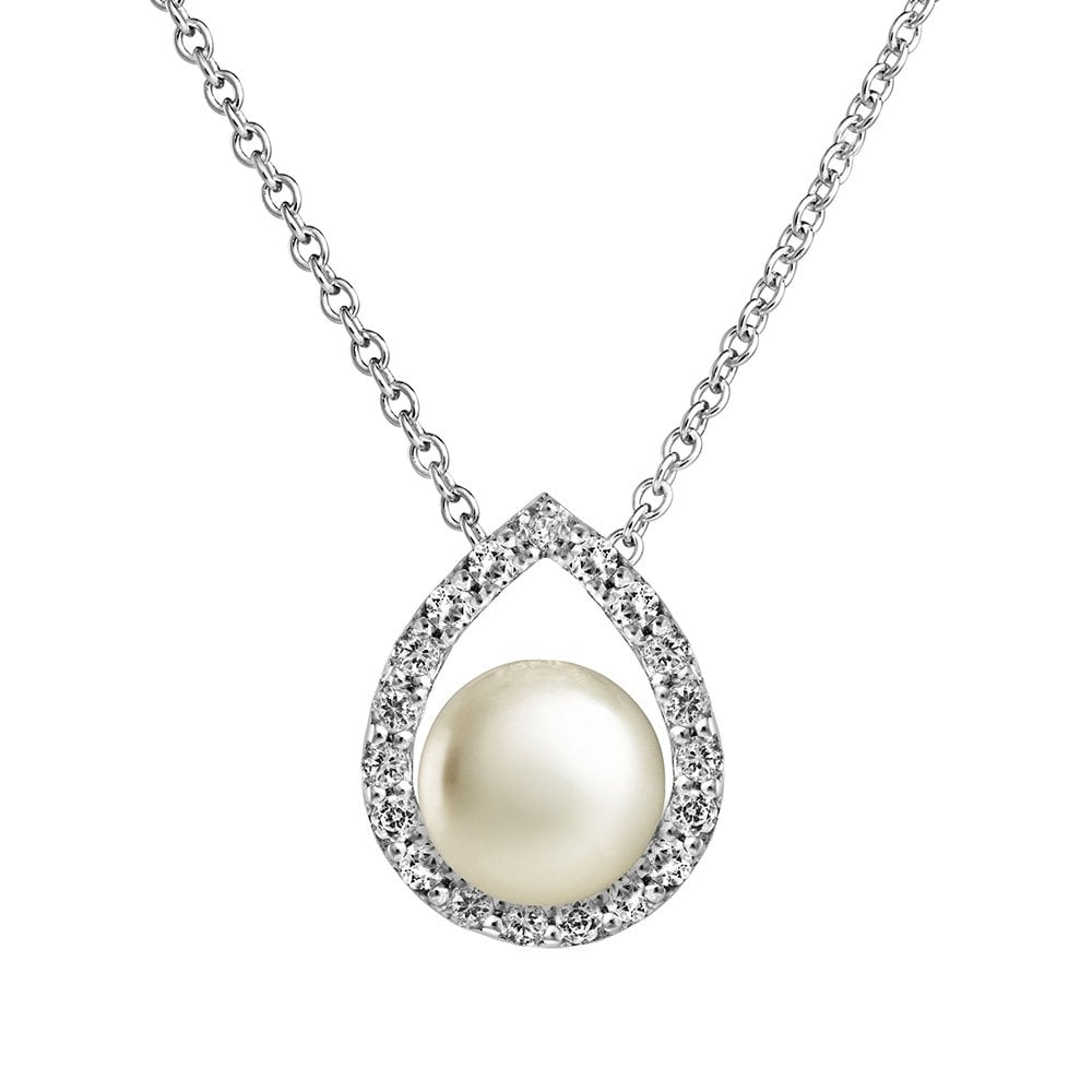 b29256af14fe2 Jersey Pearl Amberley Pendant - Silver - AMP6
