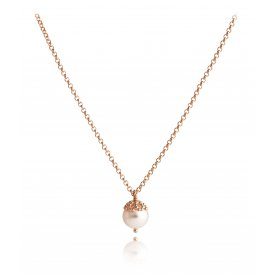 Jersey Pearl Emma-Kate Rose Gold Vermeil Pendant