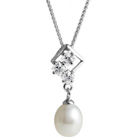 Jersey Pearl Sparkle Pearl Necklace