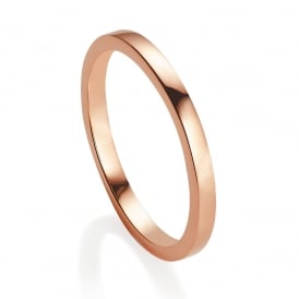 Jersey Pearl Viva Stacking Ring Rose Gold N ~ VIVASR-RG-N