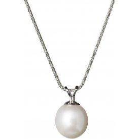 Jersey Pearl White Gold Pearl Pendant