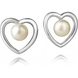 Jersey Pearl White Kimberley Selwood Pearl Studs