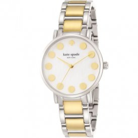 Kate Spade Ladies Gramercy Dot Two Tone Watch 1YRU0738