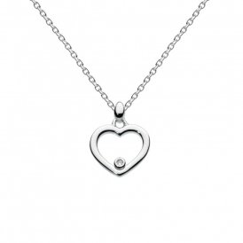 Kit Heath Kids Dinky Diamond Heart Necklace ~ 9965DI013