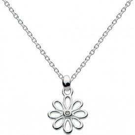Kit Heath Kids Girls Dinky Diamond Daisy Necklace ~ 9964DI013