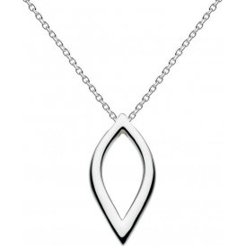 Kit Heath Silver Marquise Pointed Necklace ~ 90165HP016