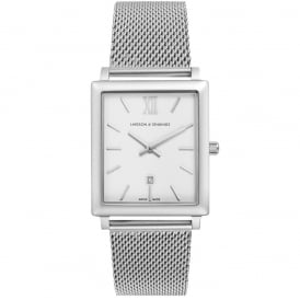 Larsson & Jennings Norse 40mm Watch - Silver ~ NRS40-CM-C-Q-M-SW-O