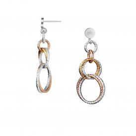 Links Of London Aurora Double Link Earrings ~ 5040.2226