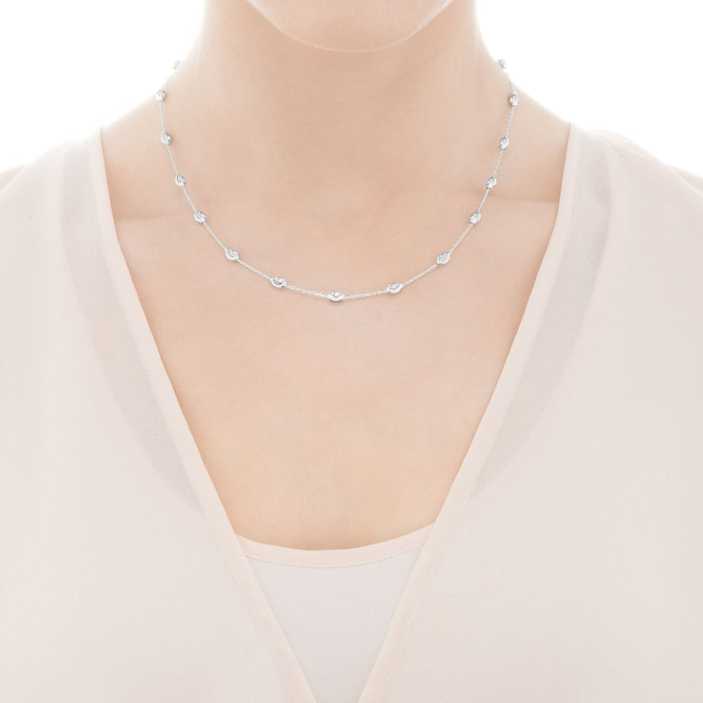 2e18f0680fce Links Of London Essentials Beaded Chain Necklace - 45cm - Silver ~ 5020.2612