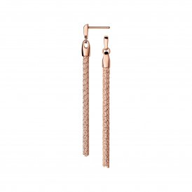 Links Of London Essentials Silk Row Earrings - Rose Gold ~ 5040.2982