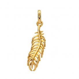 Links Of London Gold Amulet Feather Charm