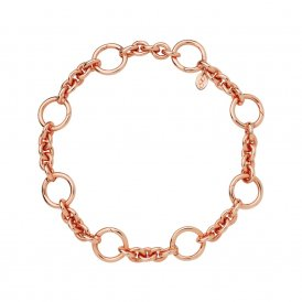 Links Of London Rose Gold Capture Charm Bracelet ~ 5010.3616