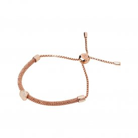 Links Of London Rose Gold Starlight Sapphire Round Bracelet
