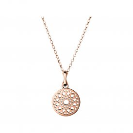 Links Of London Rose Gold Timeless Small Necklace ~ 5024.1409