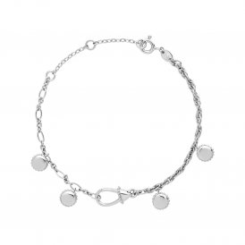 Links Of London Silver Amulet Bracelet
