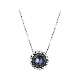 Links Of London Silver Effervescence Pearl Necklace ~ 5020.3000