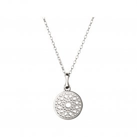 Links Of London Silver Timeless Small Necklace ~ 5024.1404