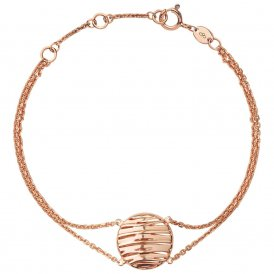 Links Of London Thames Rose Gold Bracelet ~ 5010.3551